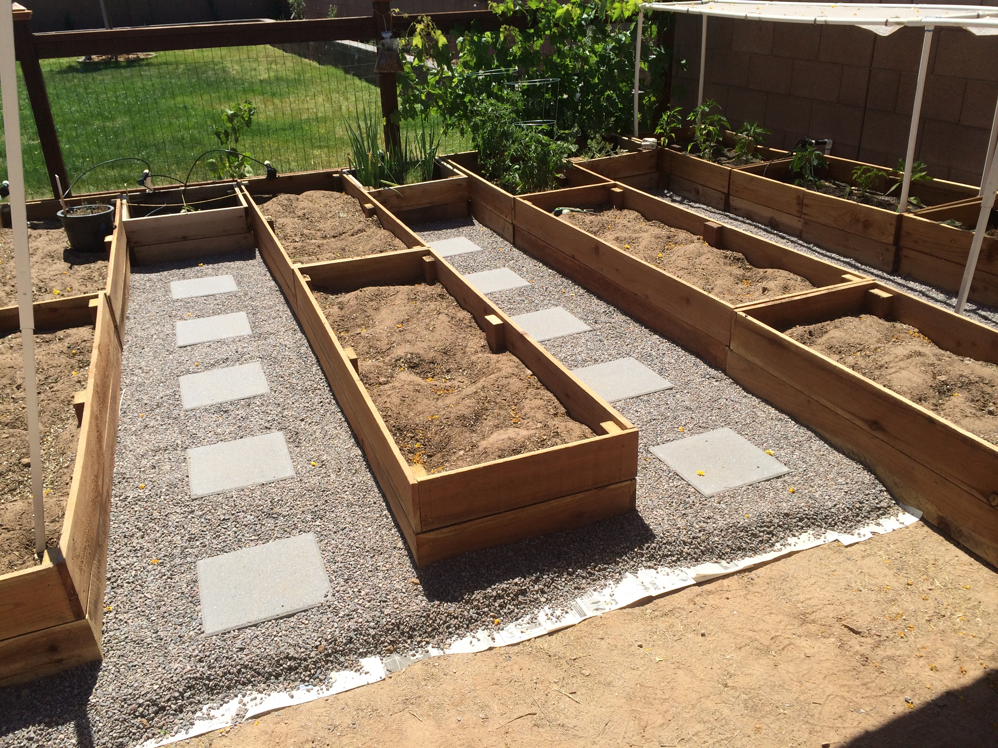 I Came Across These Photos On My Computer And Have Been Meaning To Share  How We Built The Garden Boxes At Our First House. We Have Since Moved And  Our ...