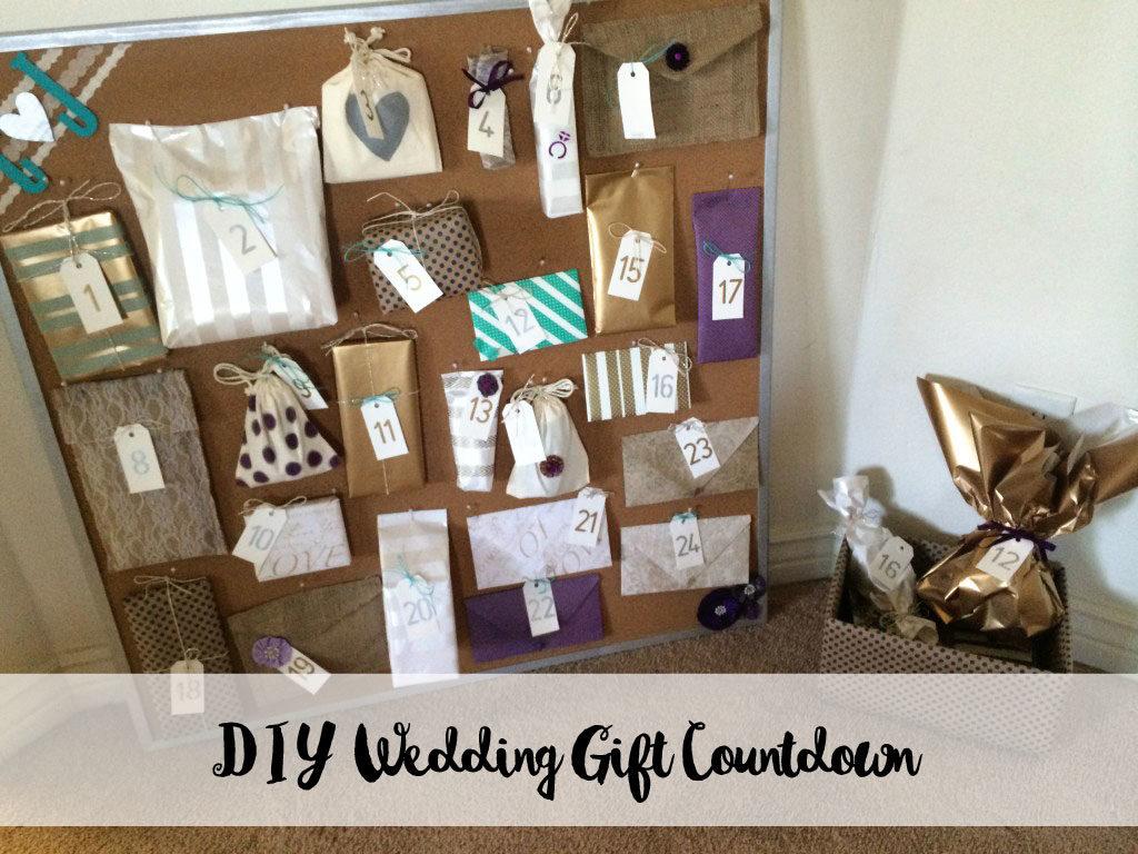 Gifts On Wedding Day For Bride: Wedding Gift Countdown: A Thoughtful Gift From My