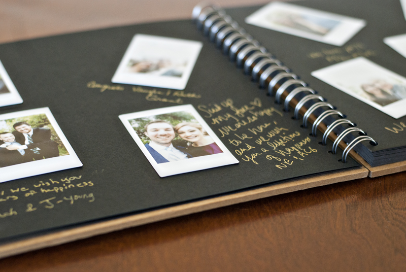 Fujimax Instax Photo Wedding Guestbook Handmade And