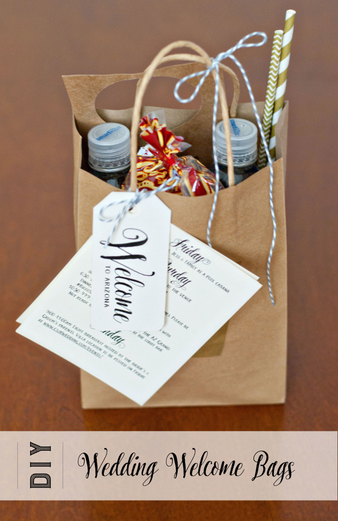 Colorado Wedding Gift Bag Ideas : Here is the final list of items that we included: