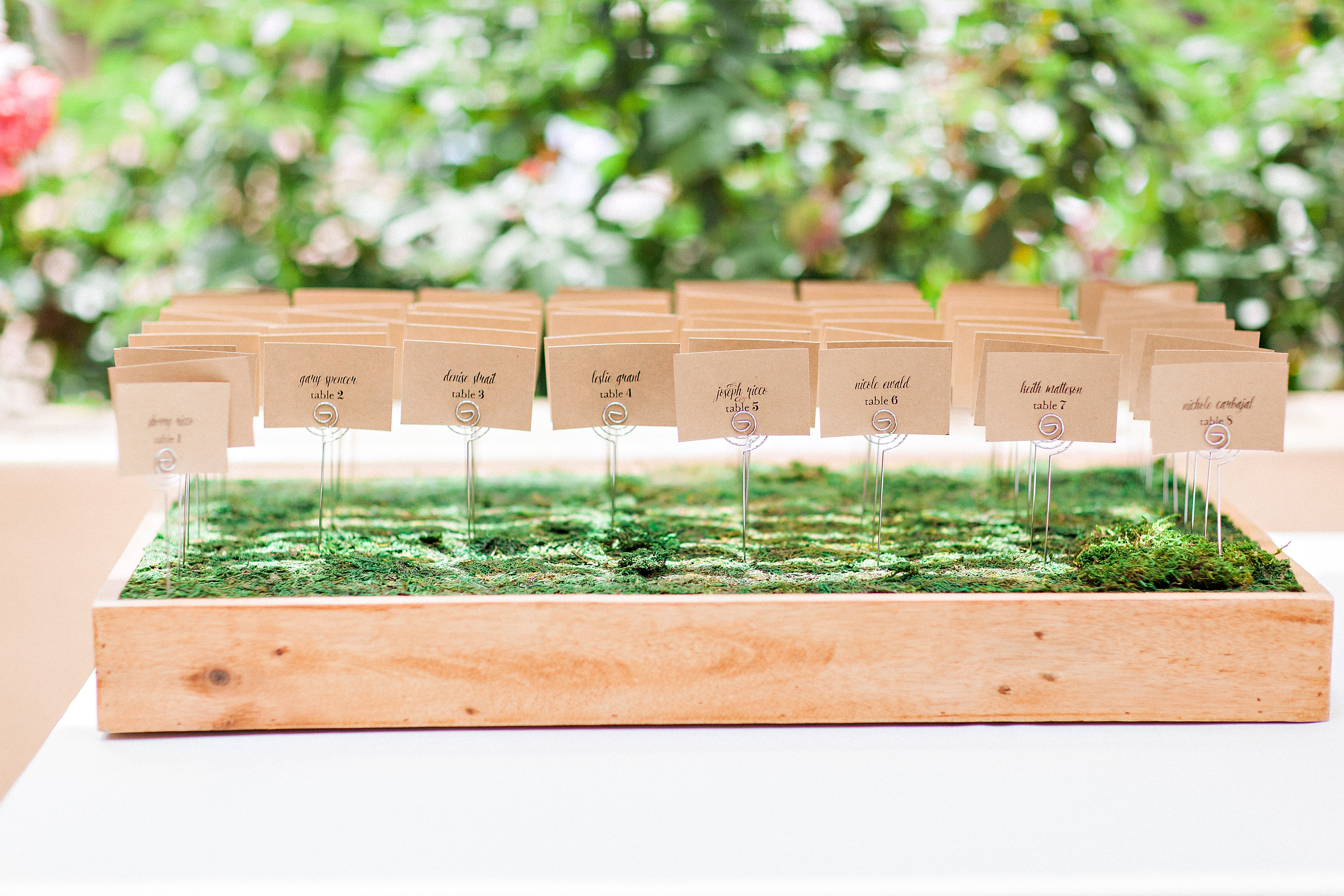 Diy wedding escort cards handmade and homegrown escort cards are a perfect and simple diy wedding project that dont have to be a huge investment in time trends right now for providing this information junglespirit Images